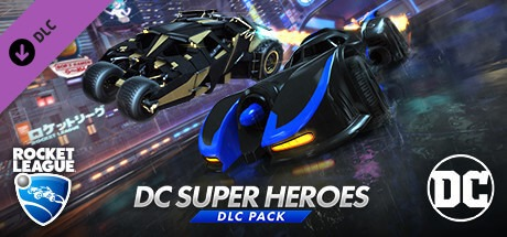 Rocket League DC Super Heroes-PLAZA