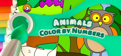 Color by Numbers - Animals Free Download
