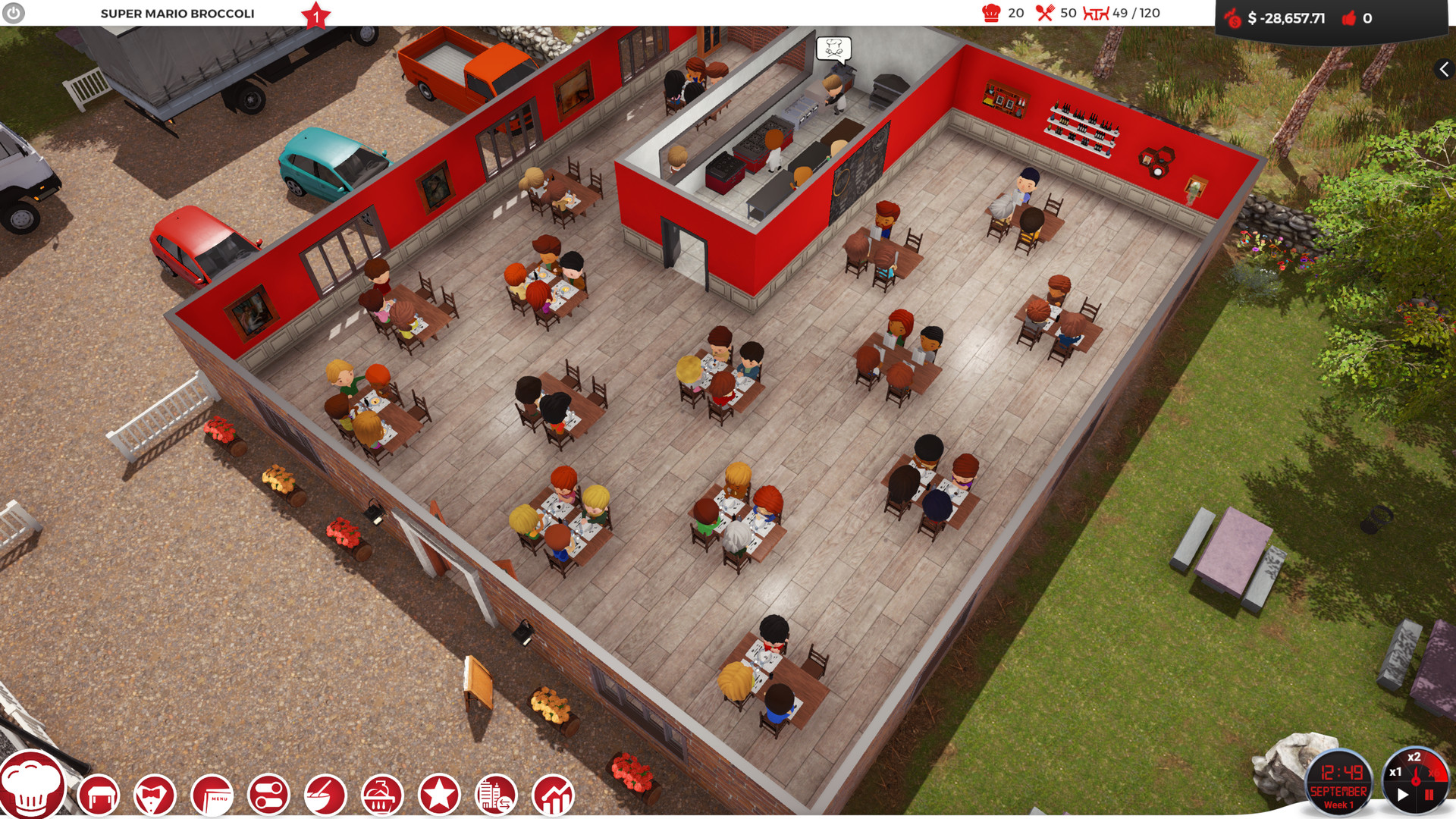 Roblox Restaurant Tycoon Layout Free Download Chef A Restaurant Tycoon Game Skidrow Cracked