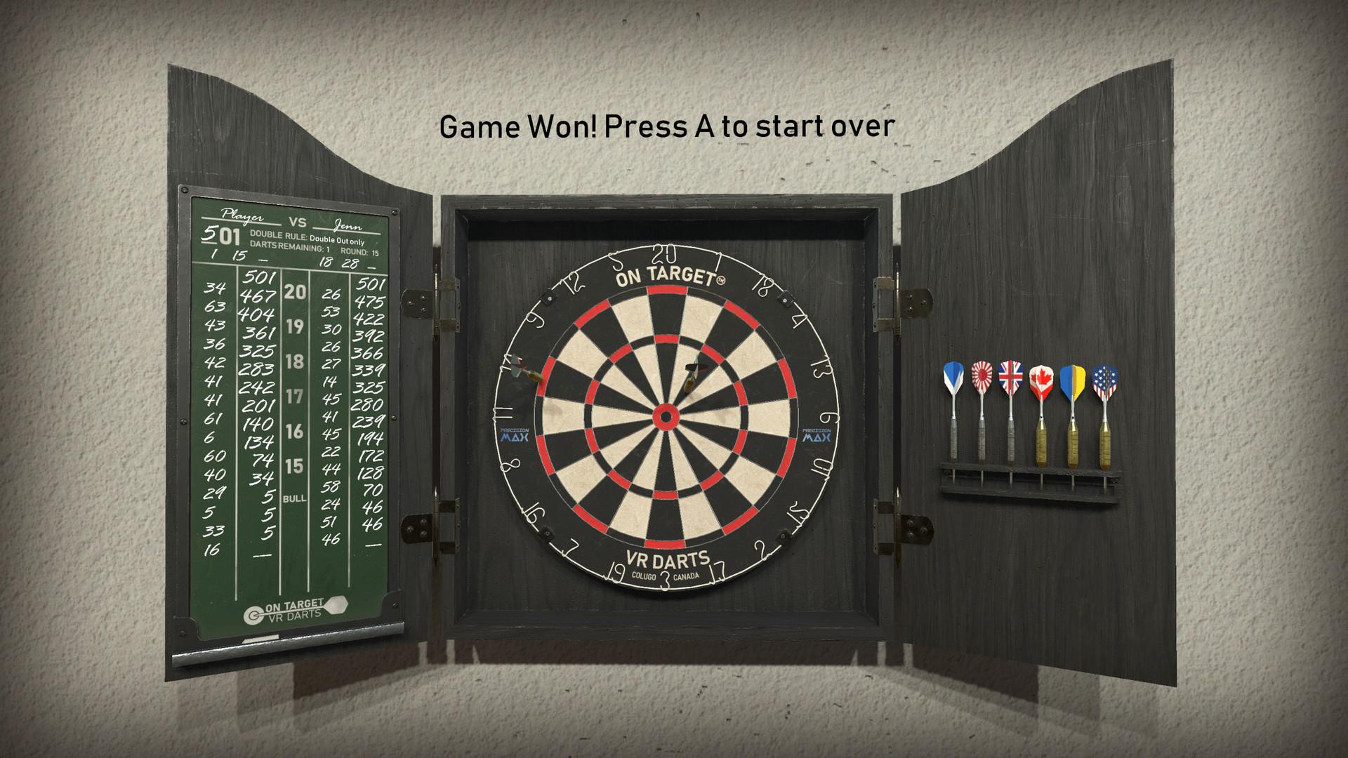 On Target VR Darts Free Download
