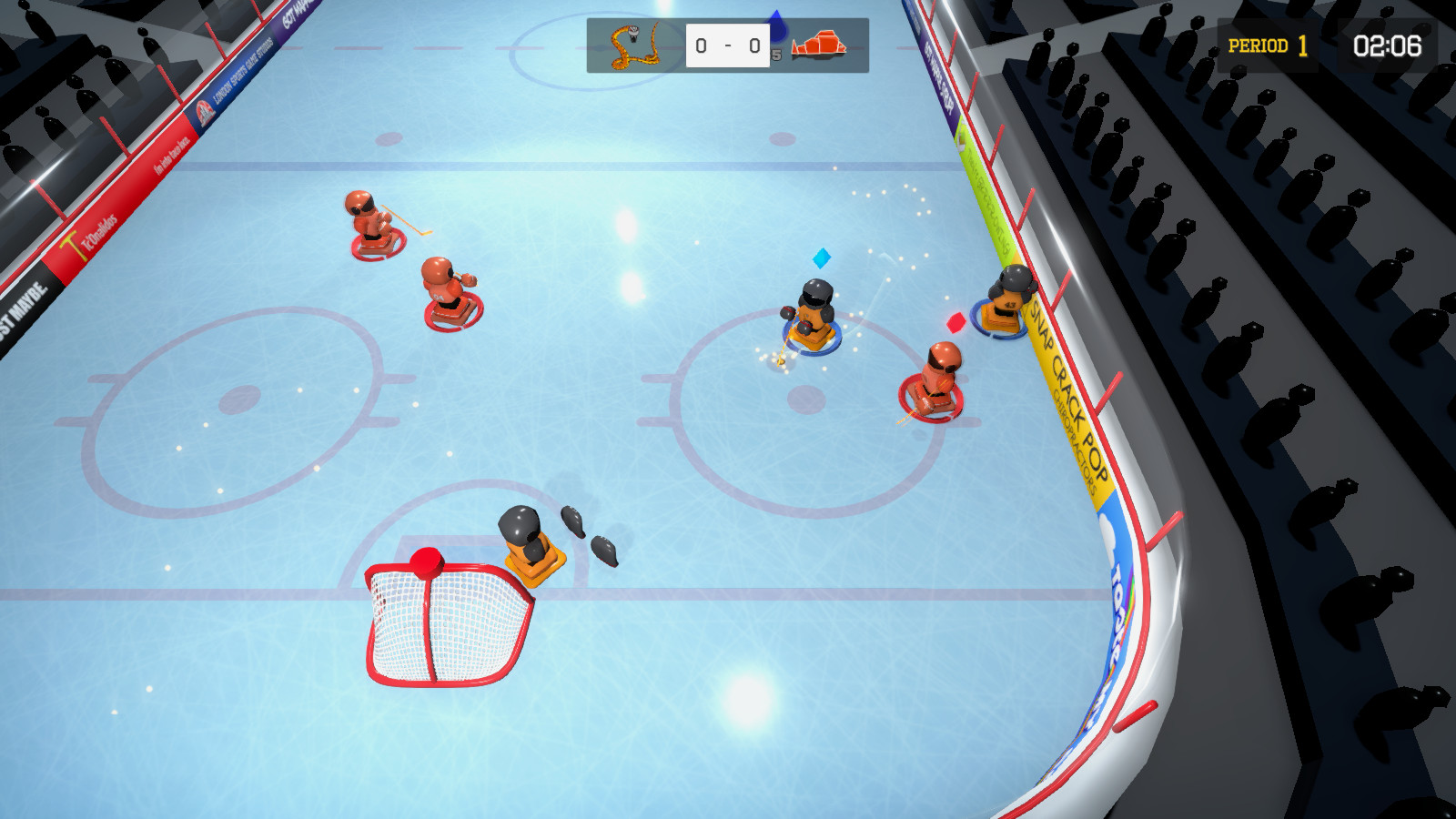 3 on 3 Super Robot Hockey Free Download