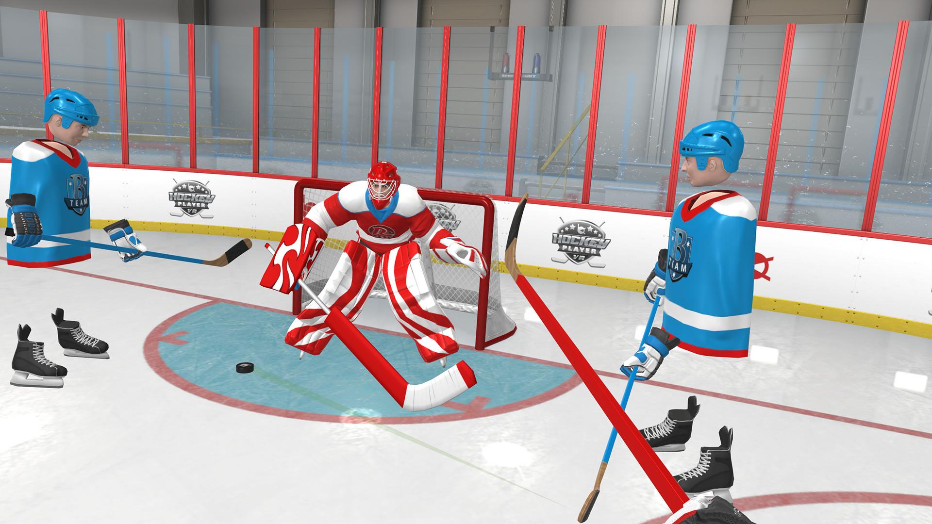 Hockey Player VR Free Download
