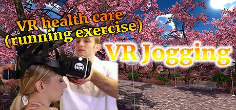 VR health care (running exercise): VR walking and running along beautiful seabeach and sakura forests Free Download