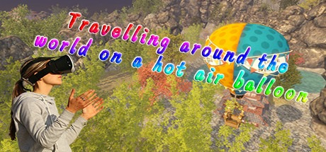 Travelling around the world on a hot air balloon Free Download