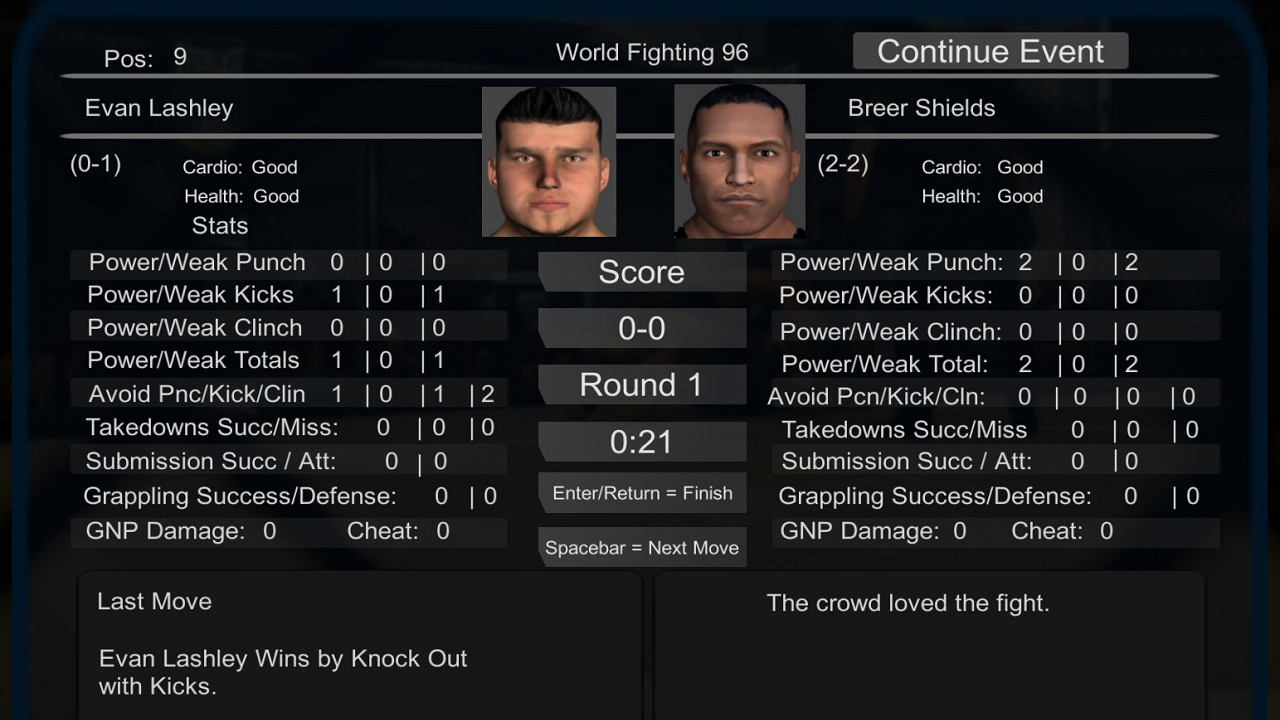 MMA President Free Download