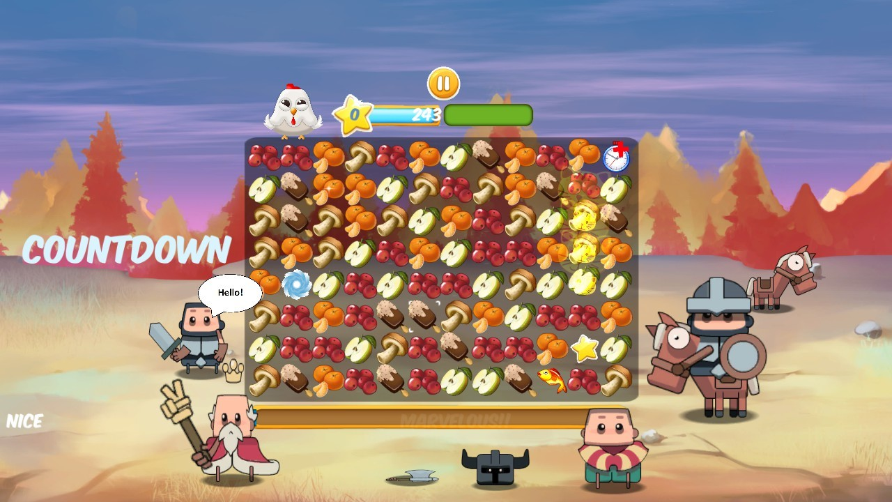Angry food Free Download