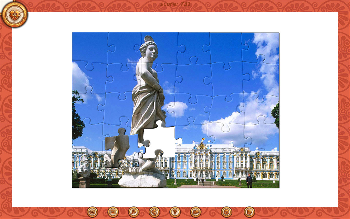 1001 Jigsaw. Myths of ancient Greece Free Download