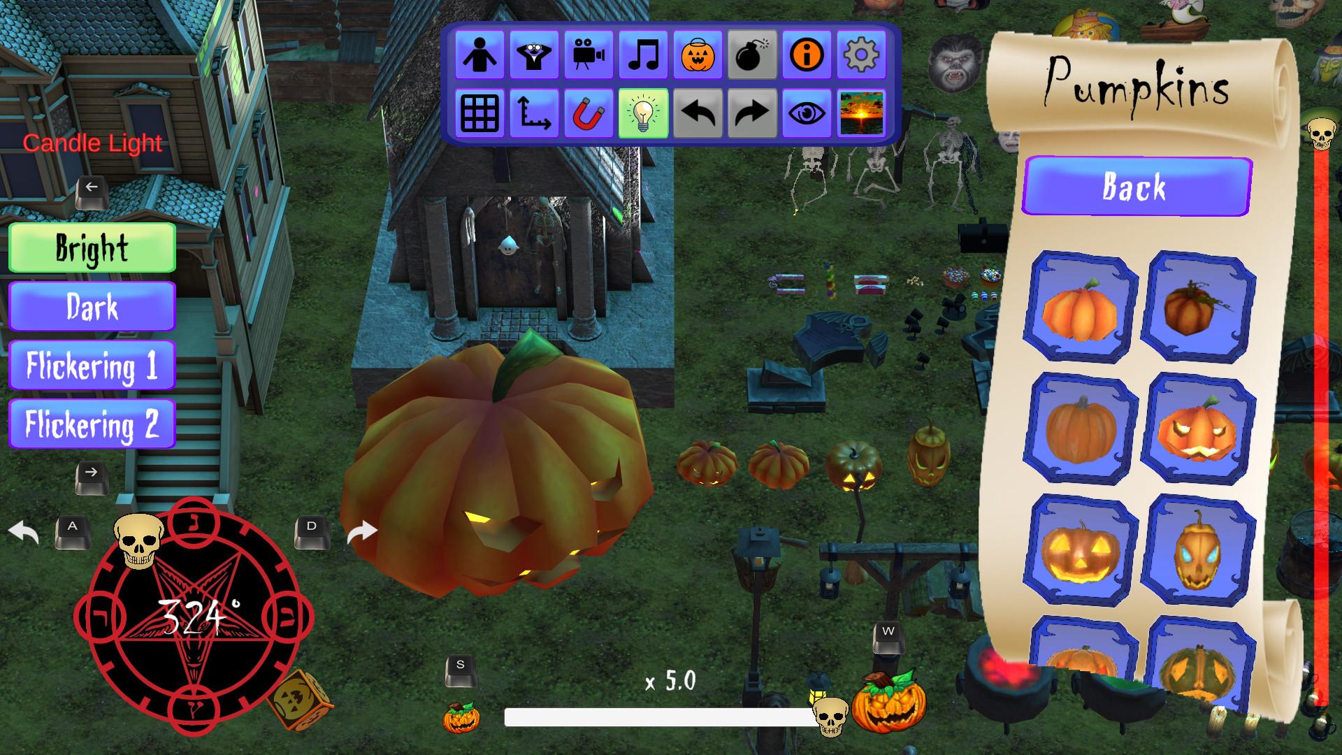 Halloween Decoration Sandbox Free Download
