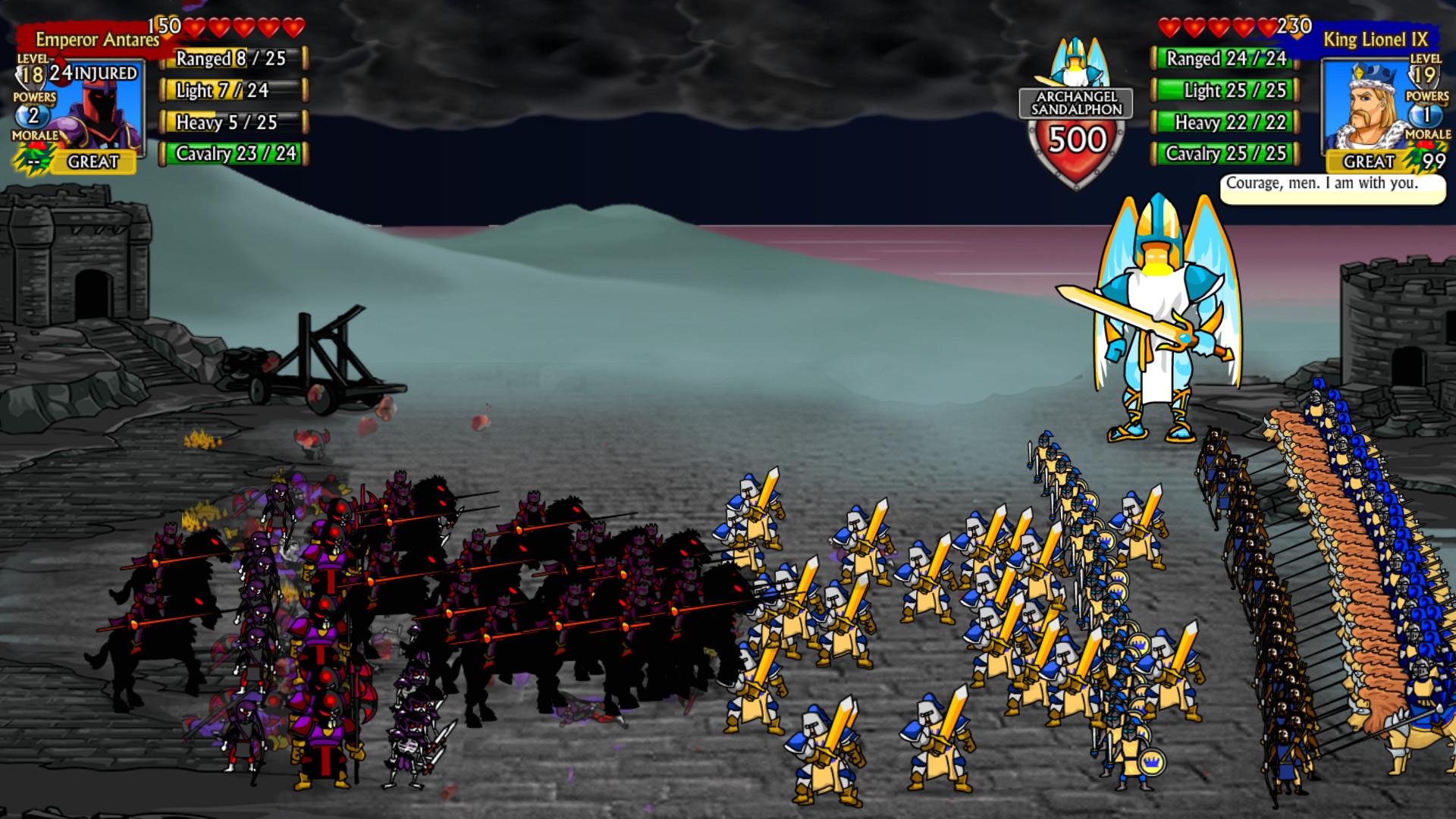 Swords and Sandals Crusader Redux Free Download
