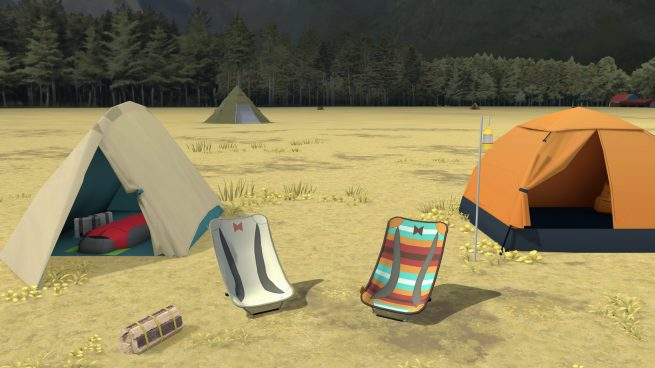 Laid-Back Camp - Virtual - Fumoto Campsite Free Download