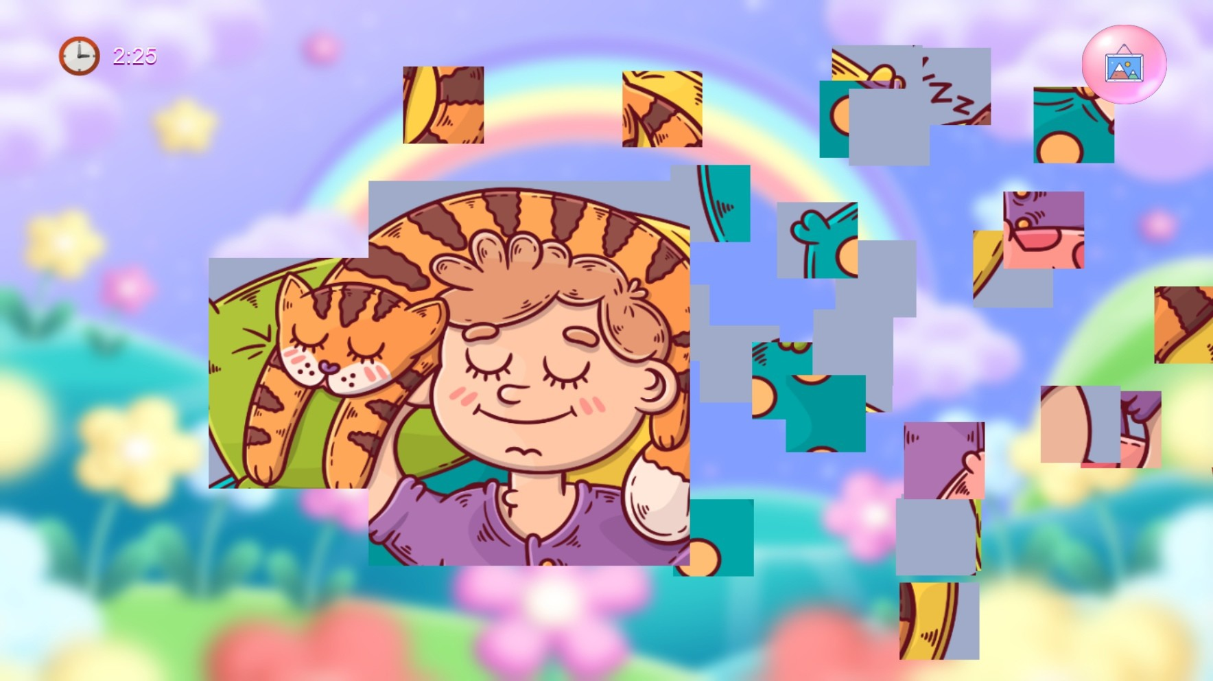 Puzzles with cats Free Download