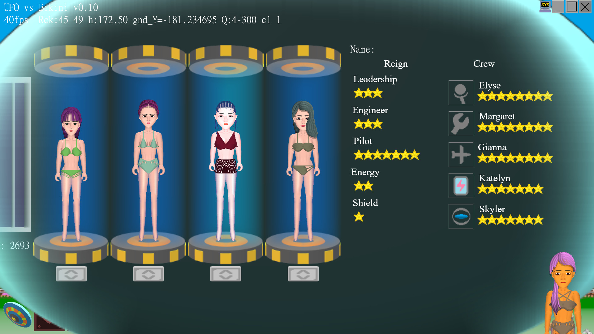 UFO vs Bikini Free Download